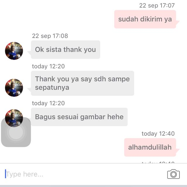 Testimonial from one of customer 😍