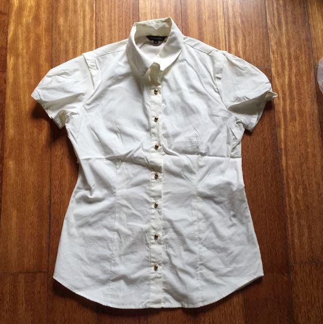 The Executive Broken White Shirt
