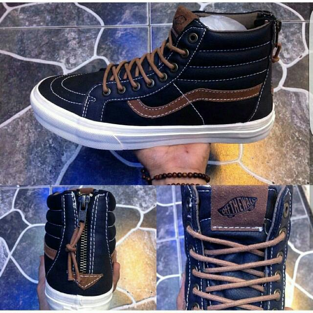 Vans Sk8 Zipper Leather