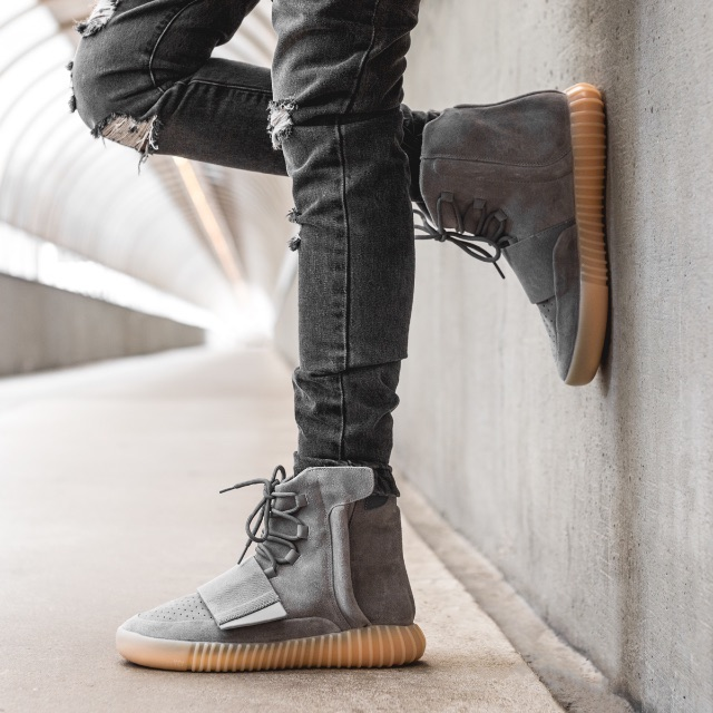 check out 27ae9 0a6f8 WTB   LF   Yeezy Boost 750 Grey Gum, Men s Fashion, Footwear on Carousell