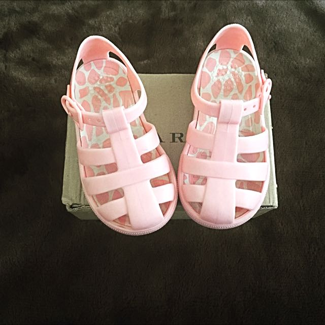 ZARA Pink Jelly Shoes , S23