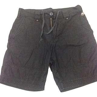 Samuel & Kevin Black Shorts