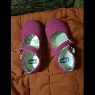 Chicco Pink Suede Shoes