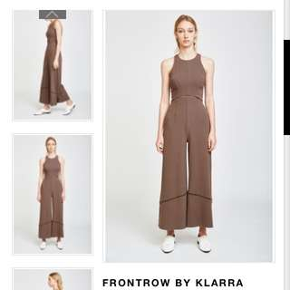LOOKING FOR: Frontrow By Klarra Eyelet Cut Out Jumpsuit In M