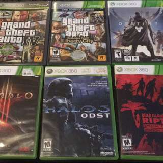 Xbox 360 And Wii U Games