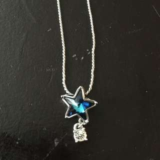 Swarovski Crystal Star Pendant Necklace (discontinued line)
