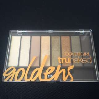 Cover Girl Golden Eyeshadow Pallet
