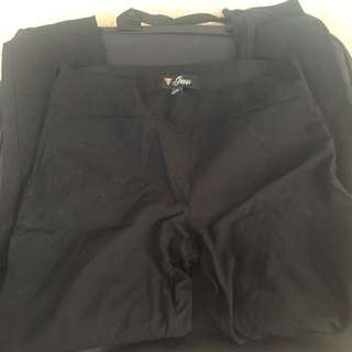 Guess Slip On Dress Pant Size Large