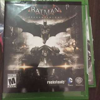 Xbox Game Batman Arkham Night