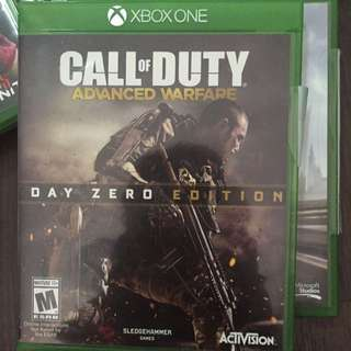 Xbox Game Call Of Duty Advanced Warfare