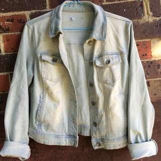 Wash Light Denim Jacket