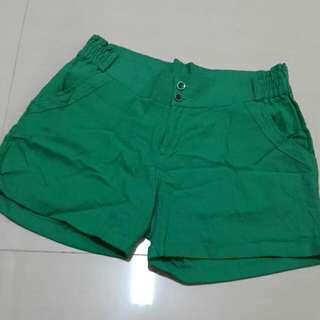 草綠短褲(全新,korea)