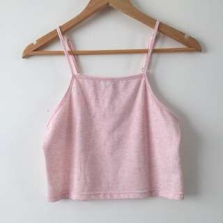 P A R E Basic Crop Top