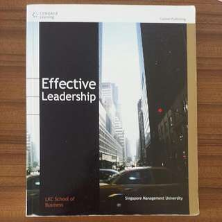 SMU Effective Leadership For LTB