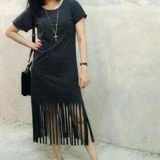 Fringe Dress Abu Abu