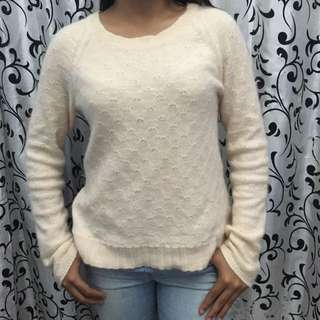 H&M Knit Top Cream