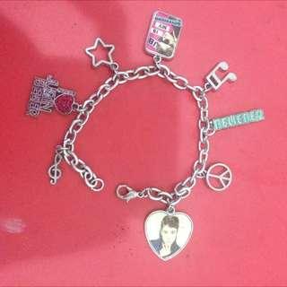 Justin Bieber Bracelet // Gelang Justin Bieber