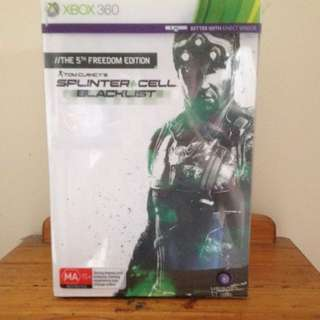 The 5th Freedom Edition, Tom Clancy's Splinter Cell Blacklist With Book And Action Figure
