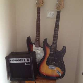 X2 Electric Guitar And Amp