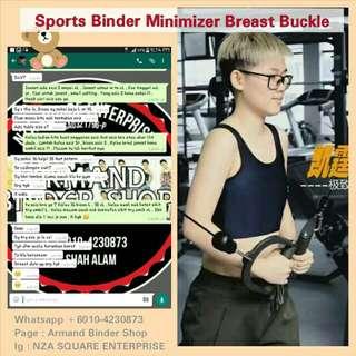 Sports Binder Minimizer Breast