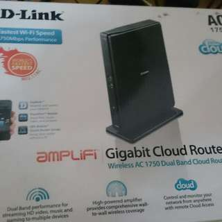D-link AC 1750 Wireless Router