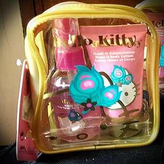 Hello Kitty Lotion And  Body Spray Set