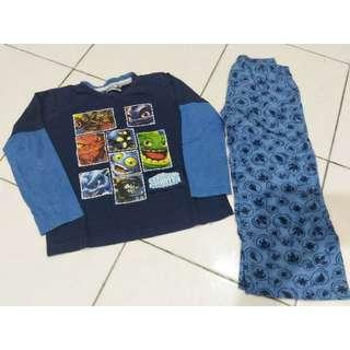 Skylandes pyjamas (4-5y)