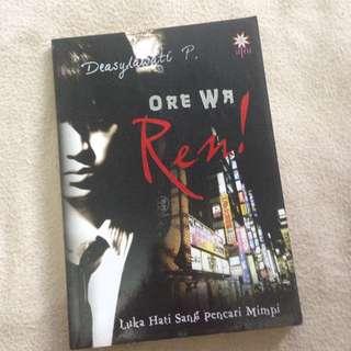 Novel Remaja: Ore Wa Ren