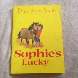 Buku Anak: Sophie's Lucky By Dick King Smith