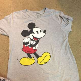 Mickey Mouse PJ shirt (size XXL)