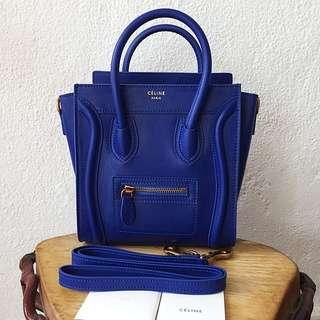 Celine Nano Royal Blue (20cm)
