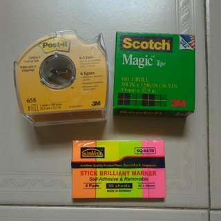 3M stationery clearance