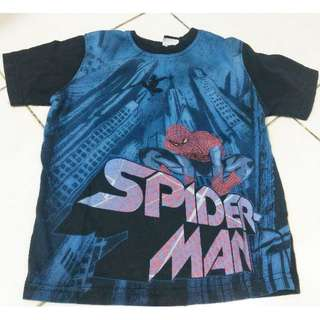Spiderman T-shirt (5-6y)