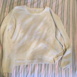 White jumper large