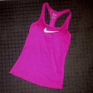Pink Nike Dri-fit Racerback Tank
