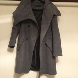 ZARA GREY COAT