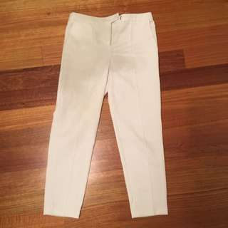 White Top Shop Pants