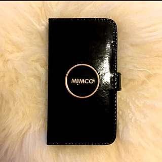 MIMCO BLACK iPhone 6 Case + Cardholder