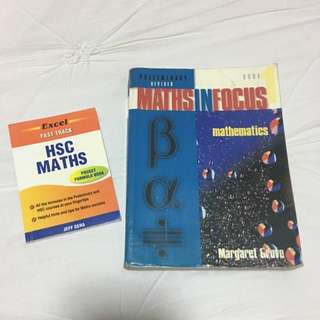 Maths In Focus Book 1 (Preliminary Revised) + HSC Maths Pocket Formula Book