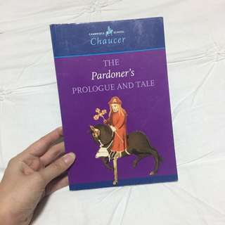 CHAUCER The Pardoner's Prologue And Tale - HSC English