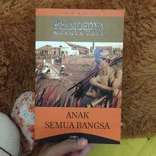 Buku Pramoedya Ananta Toer (Anak Semua Bangsa)