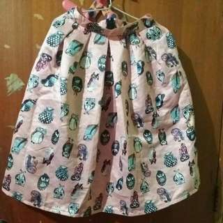 Owl Skirt Pink