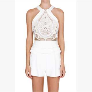 FOR HIRE - Sass & Bide - The Warning Cry Playsuit