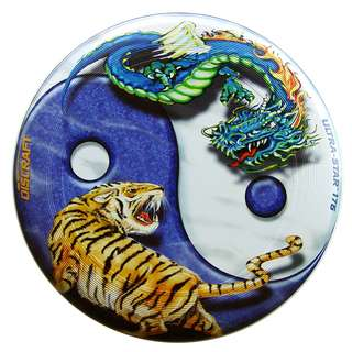 YinYang Discraft Ultrastar Flying Disc (Ultimate Frisbee Disc)