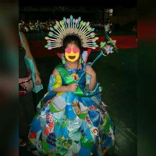 Recycled Gown/costume