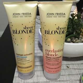 John Frieda Shampoo/conditioner Duo