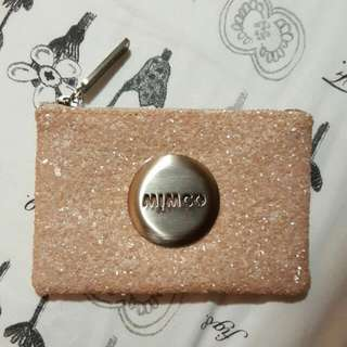 NEW MIMCO Pink Sparks Small Pouch