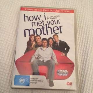 How I Met Your Mother Season 1 Dvd