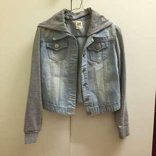 Varsity Denim Jacket