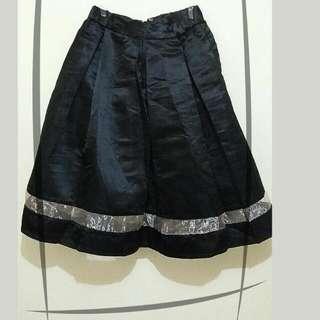 Black Party Skirt